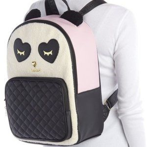 NWT Luv Betsey Johson Badley Panda Backpack